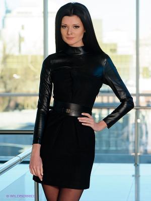 Платье EZANNA. Цвет: черный