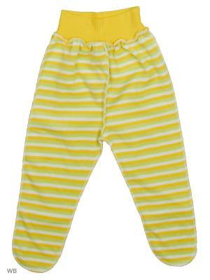 Ползунки Babycollection. Цвет: салатовый, желтый