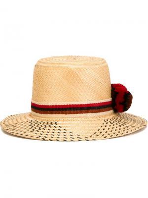 Шляпа Kasuchi Yosuzi. Цвет: телесный