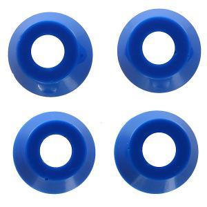 Амортизаторы для скейтборда  Low Conical Cushions Medium Hard Blue 92a Independent. Цвет: синий