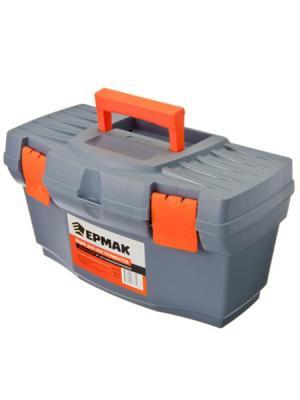 Ящик для хранения Ермак. Цвет: серый, оранжевый