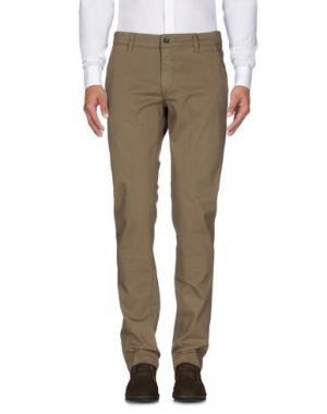 Повседневные брюки HEAVEN TWO. Цвет: хаки