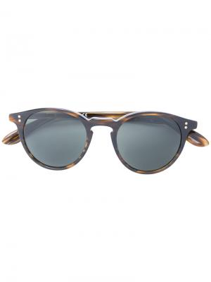 Солнцезащитные очки с круглой оправой Paul & Joe. Цвет: коричневый