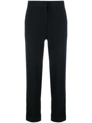 Side-striped tailored trousers Prada. Цвет: чёрный