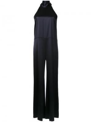 High neck jumpsuit Galvan. Цвет: чёрный