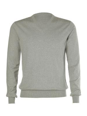 Пуловер Kangra. Цвет: светло-серый