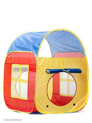 Игровая палатка Домик Наша Игрушка. Цвет: синий
