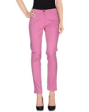 Повседневные брюки JEANS & POLO. Цвет: светло-фиолетовый