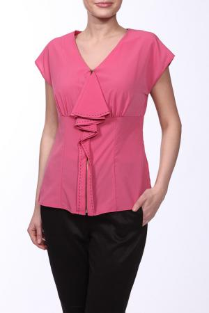 Блузка E.LEVY. Цвет: нежно-розовый