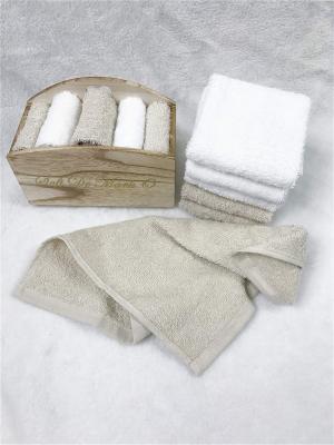 Набор салфеток в декоративной упаковке Sofi de Marko. Цвет: светло-коричневый, белый