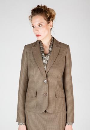 Пиджак Виреле. Цвет: коричневый