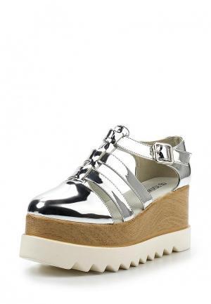 Туфли Fashion & Bella. Цвет: серебряный