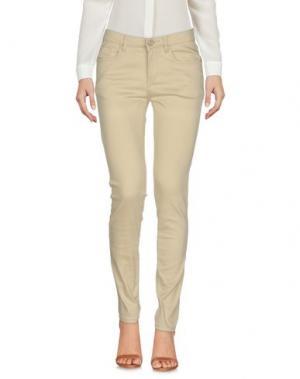 Повседневные брюки MOLLY BRACKEN. Цвет: бежевый