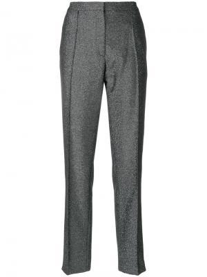 Классические брюки с люрексом Golden Goose Deluxe Brand. Цвет: чёрный