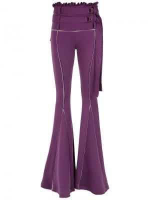 Panels flared trouser Andrea Bogosian. Цвет: розовый и фиолетовый