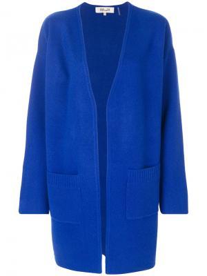 Открытый кардиган Diane Von Furstenberg. Цвет: синий