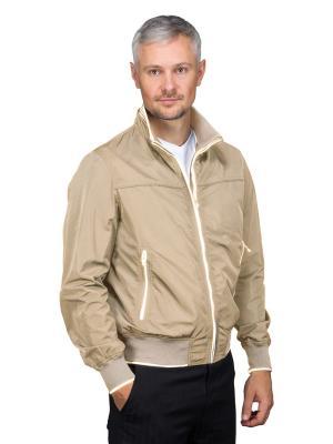 Куртка GREG. Цвет: бежевый