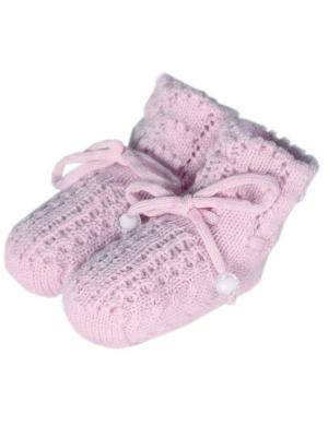 Пинетки R&I. Цвет: сиреневый, бледно-розовый