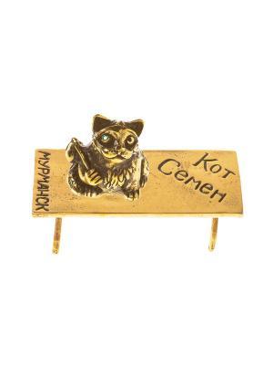 Фигура Кот Семен Aztek. Цвет: желтый, коричневый, светло-оранжевый