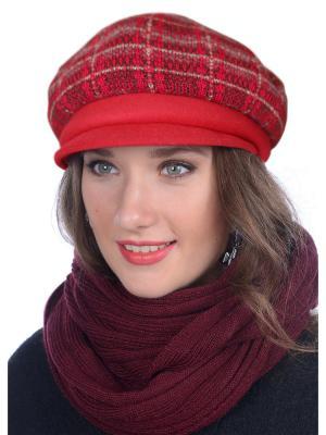 Кепка Сиринга. Цвет: красный, серый
