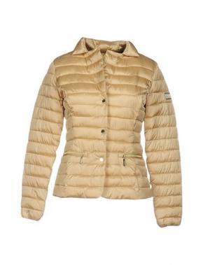 Куртка YES ZEE by ESSENZA. Цвет: бежевый
