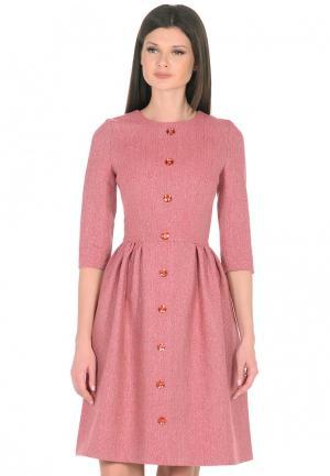 Платье Maison de la Robe. Цвет: коралловый