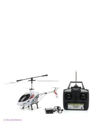 Радиоуправляемая игрушка Вертолет От винта. Цвет: белый, серебристый