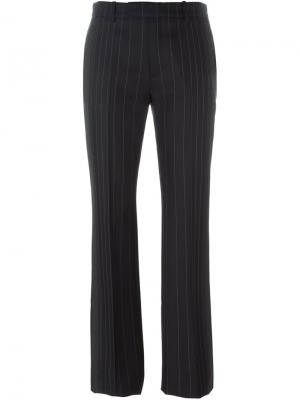Расклешеные брюки Maison Margiela. Цвет: чёрный