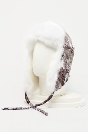 Шапка-ушанка Romax. Цвет: мех белый