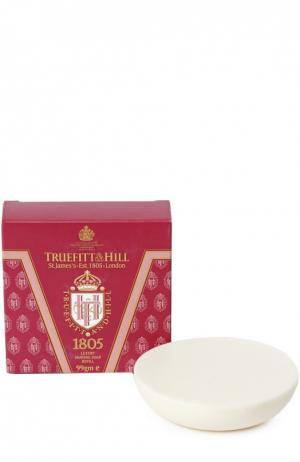 Люкс-мыло для бритья 1805 (запасной блок деревянной чаши) Truefitt&Hill. Цвет: бесцветный