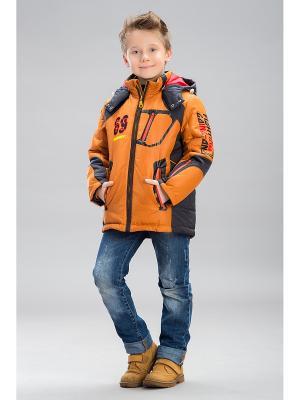 Куртка Steen Age. Цвет: светло-коричневый