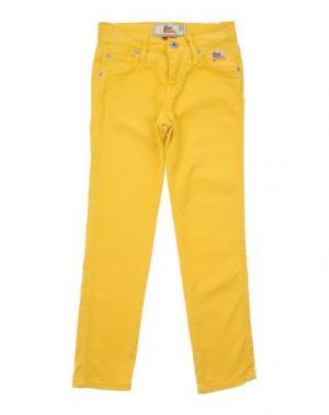 Джинсовые брюки ROŸ ROGER'S. Цвет: желтый