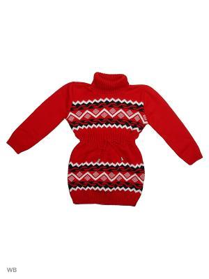 Платье Babycollection. Цвет: красный