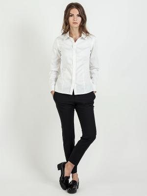 Блузка VITA STRETTA. Цвет: белый