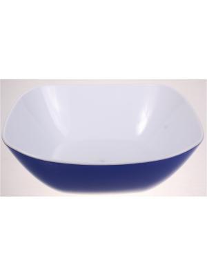 Салатник большой, 1350 мл, синий Радужки. Цвет: синий