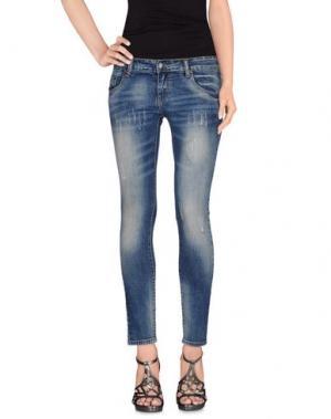Джинсовые брюки MAGILLA. Цвет: синий