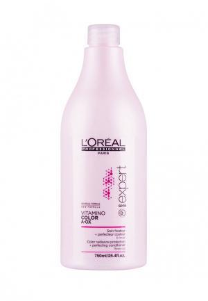 Смываемый уход-фиксатор цвета LOreal Professional L'Oreal. Цвет: розовый