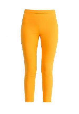 Брюки oodji. Цвет: оранжевый