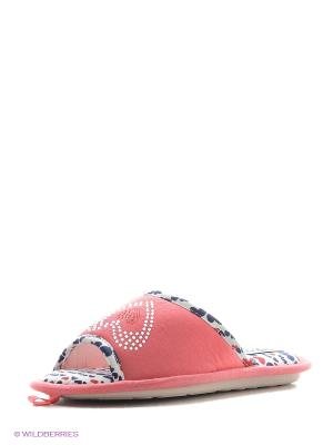 Тапочки De Fonseca. Цвет: коралловый