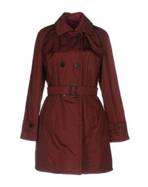 Легкое пальто SALCO. Цвет: красно-коричневый