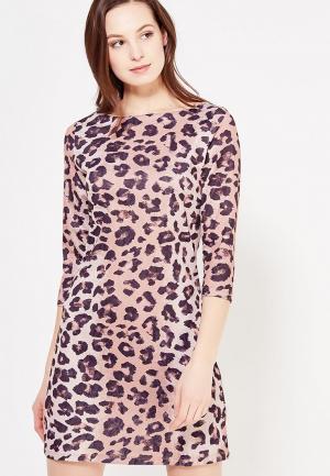 Платье Taya. Цвет: коричневый