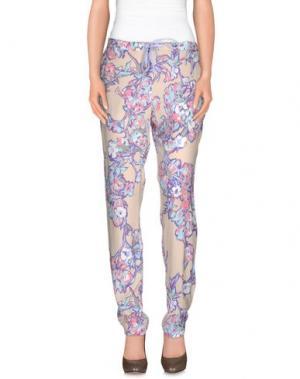 Повседневные брюки XANDRES. Цвет: бежевый