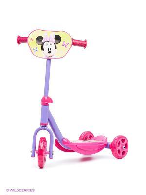Самокат 3-х колесный Minnie Mouse Smoby. Цвет: сиреневый, розовый