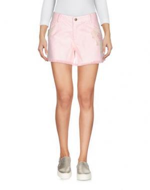 Джинсовые шорты BRIGITTE BARDOT. Цвет: розовый