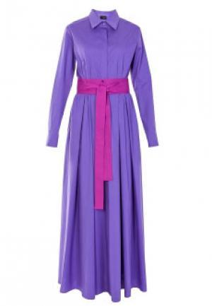 Платье NOLO. Цвет: фиолетовый