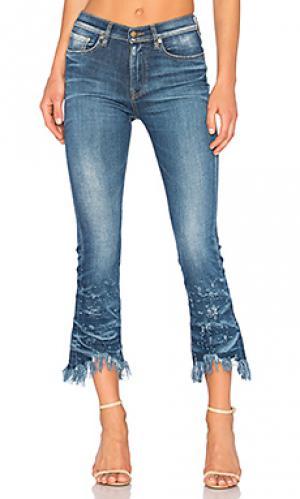 Потертые укороченные джинсы biscayne PRPS Goods & Co. Цвет: none