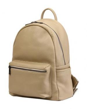 Рюкзаки и сумки на пояс PARENTESI. Цвет: бежевый