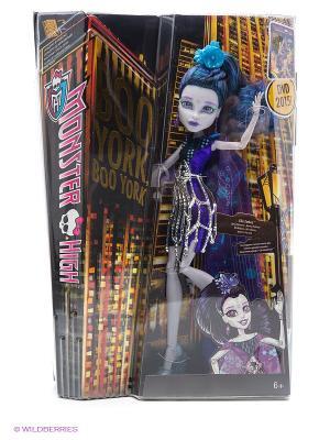 Кукла Boo York Monster High. Цвет: фиолетовый