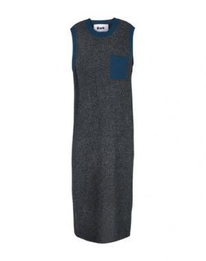 Длинное платье BARK. Цвет: цвет морской волны