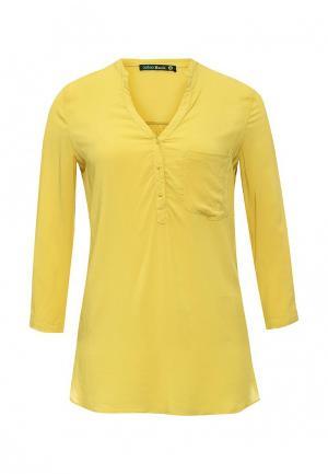 Рубашка Befree. Цвет: желтый